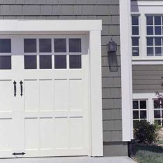 Siding (more of a brown color preferred) really like the Fiber Cement option!  Really like this garage door style.
