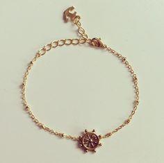 Antique Anchor Bracelet $22 ~shopebbo  http://www.shopebbo.com/collections/bracelets/products/antique-anchor-bracelet