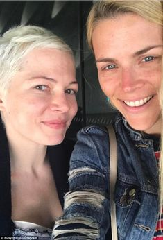 No filter needed! Best friends Busy Philipps and Michelle Williams shared a sweet make-up free selfie to Instagram on Friday, honoring their long-lasting friendship since Dawson's Creek