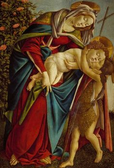 Madonna and Child with the Young St John (c1500) by Sandro Botticelli - Great Works - Art - The Independent