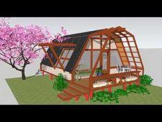 Vivienda Ecológica Autosustentable Permacultural - Construcción Domo Apartaestudio 01 - YouTube
