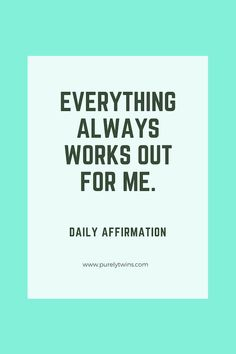 5 powerful daily aff