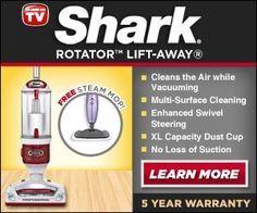 Shark Rotator Lift Away Vacuum