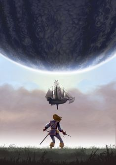 Illustrations, Sci Fi, Photos, Stars, Landscape, Illustrator, Science Fiction, Illustration, Sterne