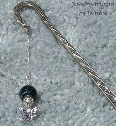 Fantastic Bookmark with Handcrafted Beads & by JewelryArtistry, $9.00