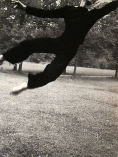 Merce Cunningham, Black Mountain College, c.1948 / Hazel Larsen Archer