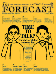 From the editorial team at Monocle, the annual survey of the forces set to shape your year ahead.
