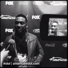 Joshua is interviewed after the Top 6 performance show. #idol