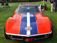 Corvette Brasil: A lenda a história e os fatos Chevrolet Corvette Stingray, Corvette Summer, Classic Corvette, Racing Stripes, Vintage Race Car, Top Cars, Courses, Rat Rods, Dream Cars