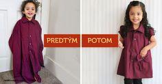 Krásne nápady, ako vyčarovať zo starej pánskej košele utešené šaty pre malú parádnicu.  Inšpirujte sa tu: http://tojenapad.dobrenoviny.sk/zvladne-to-aj-zaciatocnik-premente-staru-pansku-koselu-na-krasne-saty-pre-dievcatko/?utm_medium=social&utm_campaign=postplanner&utm_source=facebook.com  #fashion #transformation #girls #dress #amazing #pretty #shirt