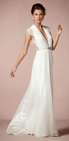 Ortensia Gown would be perfect for woodland wedding.