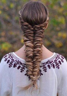 @braidsbyjordan with her Dirty Blonde Luxy Hair Extensions in this super voluminous Fishtail Braid! Photo by: https://instagram.com/p/7twOSpv3xX/?taken-by=braidsbyjordan #LuxyHairExtensions