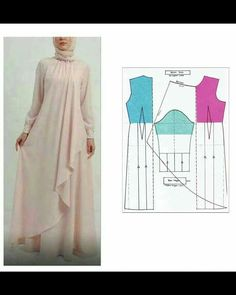 34 Ideas For Sewing Patterns Skirt Easy Source by artiesuharjanto hijab Skirt Patterns Sewing, Blouse Patterns, Clothing Patterns, Skirt Sewing, Abaya Fashion, Muslim Fashion, Kaftan Pattern, Circle Skirt Pattern, Costura Fashion