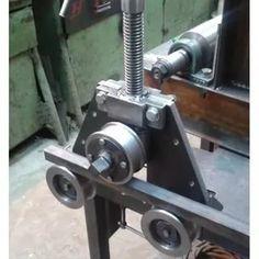 Metal Bending Tools, Metal Working Tools, Metal Tools, Cool Tools, Diy Tools, Metal Fabrication Tools, Metal Bender, Metal Shaping, Engineering Tools