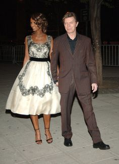 Bowie and Iman, 2005.