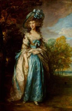 Sophia Charlotte Digby, Lady Sheffield, by Thomas Gainsborough, 1785-6, at Waddesdon Manor. ©National Trust, image provided by the Public Catalogue Foundation