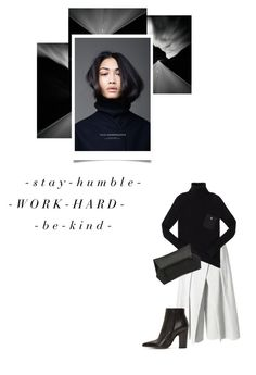 """- 0 0 8 -"" by hey-anna ❤ liked on Polyvore featuring TIBI, Maison Margiela, Marc by Marc Jacobs and Niki English"