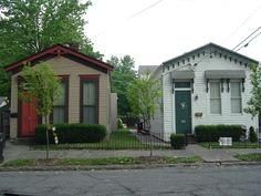 Pair of shotgun houses, Old Louisville