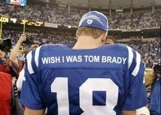 This is cruelty. NOBODY hears as much about tom brady as Payton manning. Go payton! Be yourself!!!