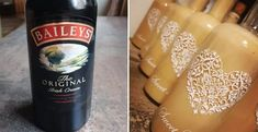 Domáci Baileys - Receptik.sk Beverages, Drinks, Starbucks Iced Coffee, Baileys, Coffee Bottle, Whisky, Food And Drink, Cooking, Sweet