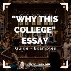 Learn How to Write Great Supplemental College Essays – College Essay Guy