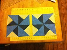 Sew Preeti Quilts: Four Patch HST (Boston Block) Tutorial