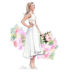 The beautiful bride! #onceuponafine