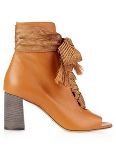 Harper lace-up leather ankle boots | Chloé - SUMMER SALE - AVAILABLE HERE: http://rstyle.me/n/cpita2bcukx