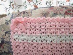 Precious Pink Baby Afghan