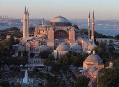 The Blue Mosque Istanbul Turkey Blue Mosque Istanbul, Christian World, Hagia Sophia, Istanbul Turkey, Taj Mahal, Beautiful Places, Religion, Europe, San