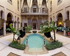 Riad Noir d'Ivoire in Marrakech, Morocco