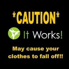 Skinny wrapping!! Love It Works products. Karinaheathcock.myitworks.com