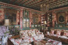 Palacio de San Benito in Cazalla, Spain, designed by its owner Manuel Morales de Jódar. The World of Interiors, January 2016. Photography by Ricardo Labougle.