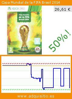 Copa Mundial de la FIFA Brasil 2014 (Videojuegos). Baja 50%! Precio actual 26,61 €, el precio anterior fue de 53,39 €. https://www.adquisitio.es/electronic-arts/copa-mundial-fifa-brasil-2