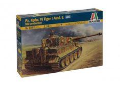 Carro armato  Pz.Kpfw.VI Tiger I Ausf.E mid production scala 1:35