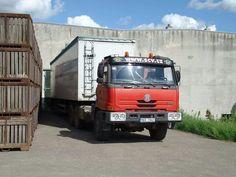 Tatra 815 truck.