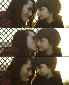 She was happy in this moment because he was with her. Tomorrow she would have to give him up, but tonight, as they watched the sun set together, her son was hers and hers alone.