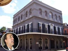 NICOLAS CAGE some people have beachfront property I have ghostfront property which is said to be the most haunted home in New Orleans