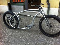 Original Lowrider vélo Aile Style Lumière Support Chrome et Or Vélo BMX