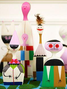 Alexander Girard Wooden Dolls