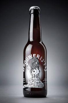 cerveza - brouwerijt ij ipa - Inspirado por un viaje a las microcervecerías de EE.UU., Brouwerij de Amsterdam Het IJ decidió crear su propio estilo Estados Unidos-punk