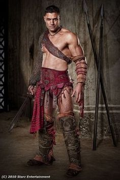 Manu Bennett -Spartacus (Crixus)
