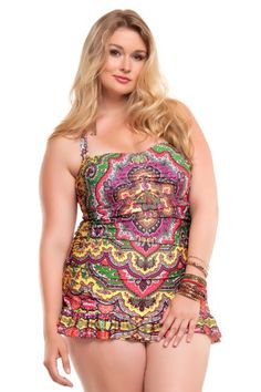 f21c14457b Becca Etc Plus Size Swimwear (roupa de banho) Collection on The Curvy  Fashionista