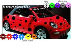 I always wanted to do this to my car...Volkswagen LadyBug