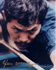 """Efren """"THE MAGICIAN"""" Reyes, considered by his his fellow professional players as one of the greatest billiard player in the world & a future hall a famer."""