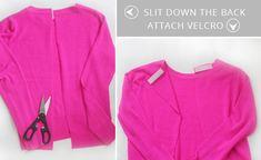 Open-Back-Sweater-DIY.jpg (570×350)