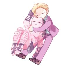 Sleepy - Yoshikage Kira - Killer Queen - JJBA - DIU - fave characters - Gud art