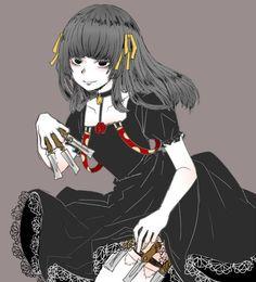Juuzou Suzuya with his black dress from TgRe-@DaraenSuzu