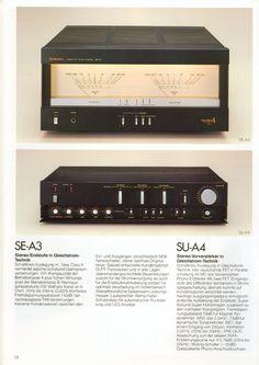 Technics SE-A3 & SU-A4 (1979)