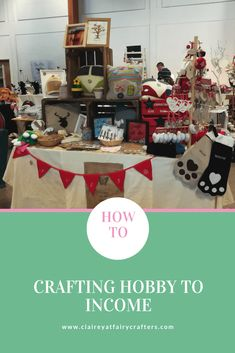 How to turn your crafting from hobby to income. The important things to consider and how to start selling your handmade items. #sellingonline #hobbybusiness #selfemployed Cute Business Names, Naming Your Business, Craft Business, Business Advice, Name Crafts, Hobbies And Crafts, Crafts To Sell, Handmade Crafts, Handmade Items
